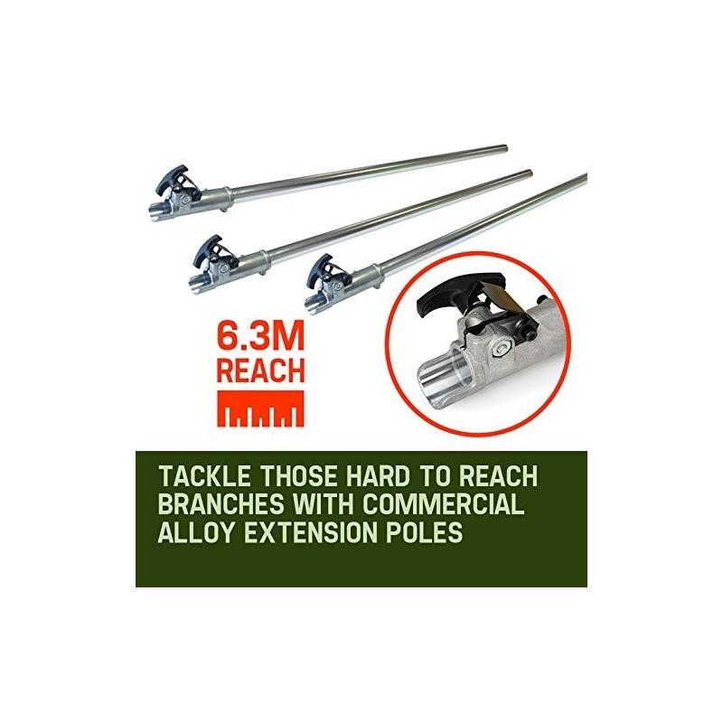 Professional Earth Auger Post Pole Borer 82 CC 3 Drills Bits 100 150200
