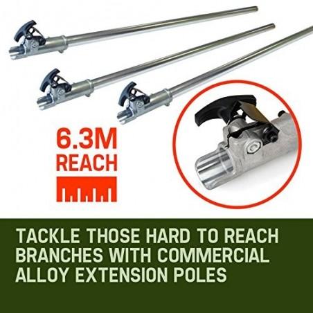Professional Earth Auger Post Pole Borer 82 CC 3 Drills Bits 100 150 200