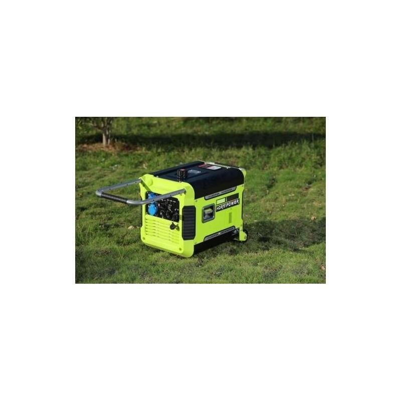 3000-Watt Super Quiet Portable key start Inverter Generator